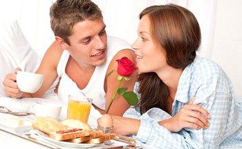 Романтический отдых на 8 марта