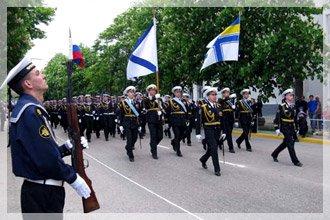 Военный парад на день Кременчуга