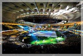 рекорд посещаемости стадионов