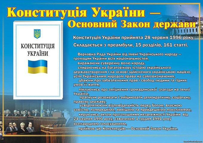 Конституция Украины - Основной закон государства