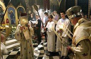 Празднование Пасхи в Кременчуге
